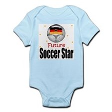Future Soccer Star Germany Baby Body Suit
