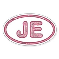 JE Pink Decal