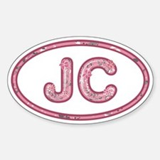 JC Pink Decal