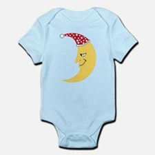 Moon Face Infant Bodysuit