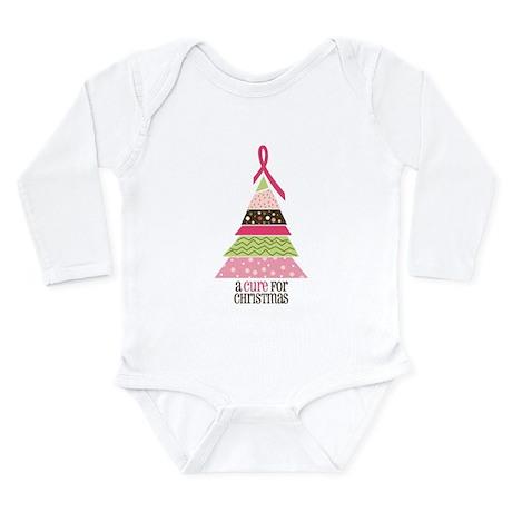 Cure For Christmas Long Sleeve Infant Bodysuit