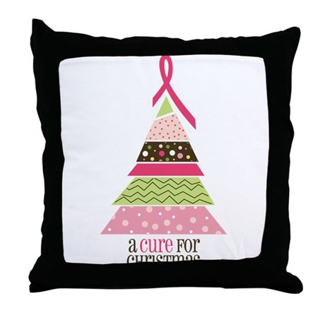 Cure For Christmas Throw Pillow