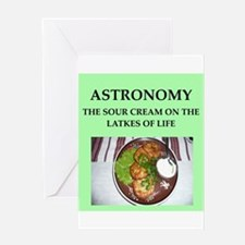 astronomy Greeting Card