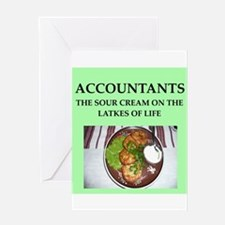 accountant Greeting Card