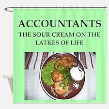 accountant Shower Curtain