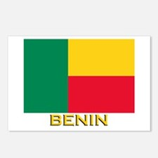 Benin Flag Gear Postcards (Package of 8)