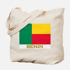Benin Flag Gear Tote Bag
