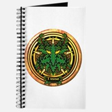 Holly Celtic Greenman Pentacle Journal