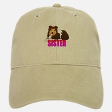 Shetland Sheepdog Sister Baseball Baseball Cap