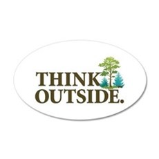 Think Outside Wall Decal