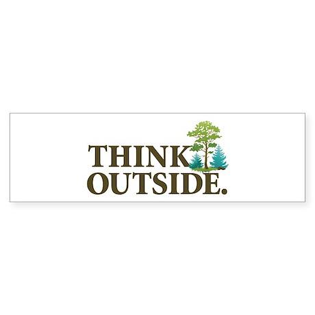 Think Outside Sticker (Bumper 50 pk)