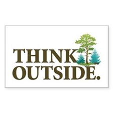Think Outside Decal