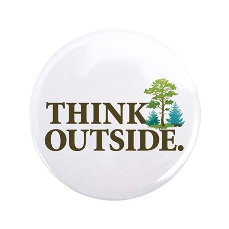 "Think Outside 3.5"" Button"