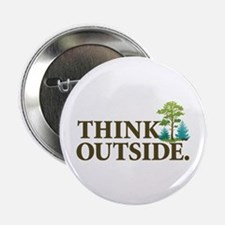"""Think Outside 2.25"""" Button"""
