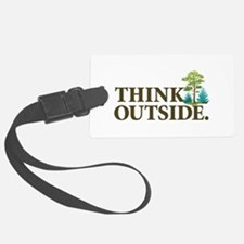 Think Outside Luggage Tag