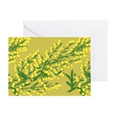 Absentia Flower Greeting Card