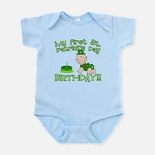 First St Patrick's Day Birthday Infant Bodysuit