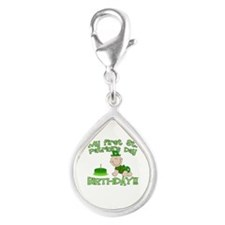 First St Patrick's Day Birthday Silver Teardrop Ch