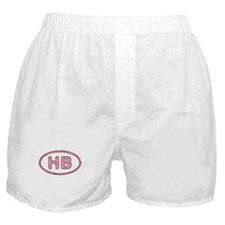 HB Pink Boxer Shorts
