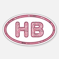 HB Pink Decal