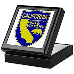 California Game Warden Keepsake Box