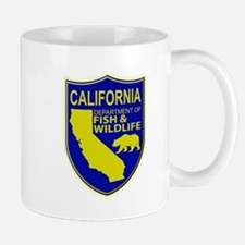 California Game Warden Mug