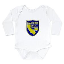 California Game Warden Long Sleeve Infant Bodysuit