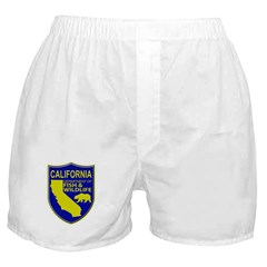 California Game Warden Boxer Shorts