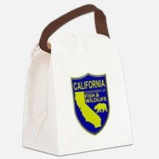 California Game Warden Canvas Lunch Bag