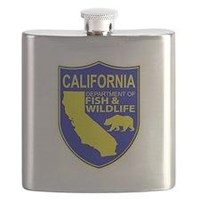California Game Warden Flask