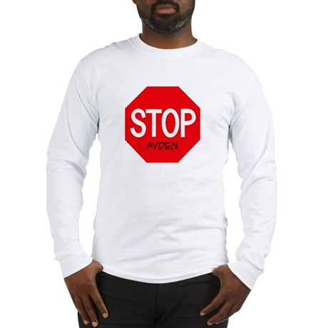 Stop Ayden Long Sleeve T-Shirt