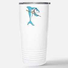 Pool Shark Stainless Steel Travel Mug