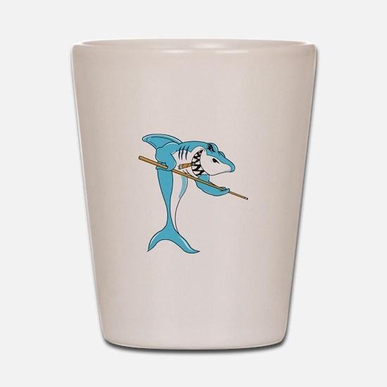 Pool Shark Shot Glass