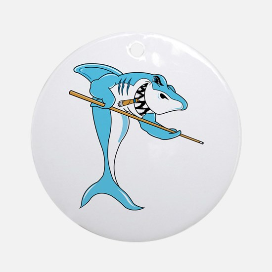 Pool Shark Ornament (Round)