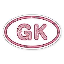 GK Pink Decal
