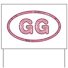 GG Pink Yard Sign
