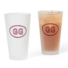 GG Pink Drinking Glass