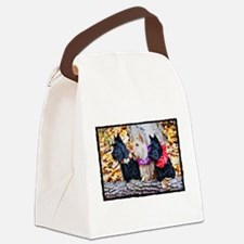 Aloha Autumn Scotties Canvas Lunch Bag