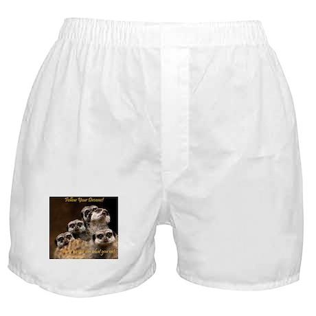 Follow Your Dreams! Boxer Shorts