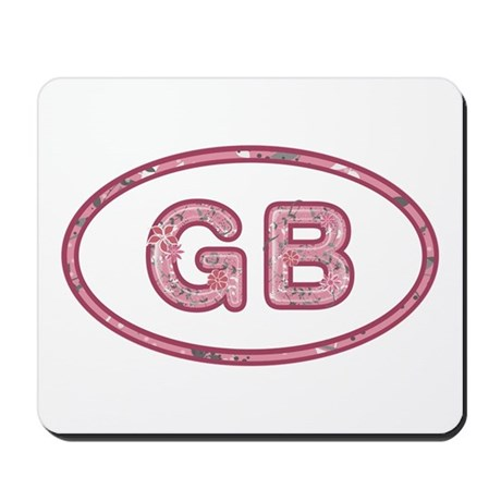 GB Pink Mousepad
