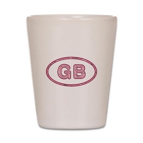 GB Pink Shot Glass