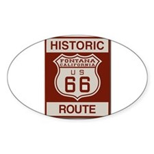Fontana Route 66 Decal