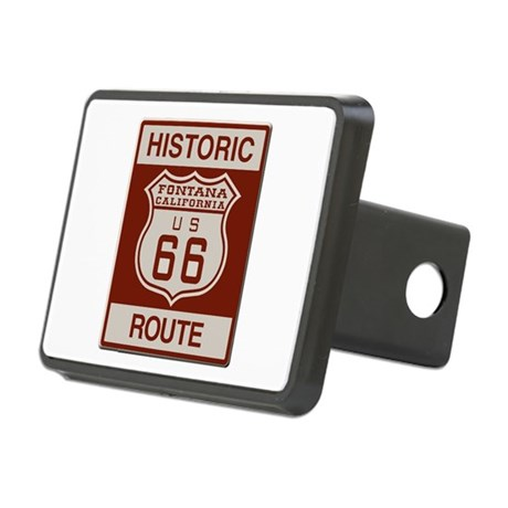 Fontana Route 66 Rectangular Hitch Cover