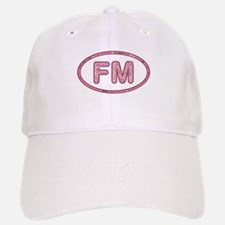 FM Pink Baseball Baseball Cap