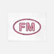 FM Pink 5'x7'Area Rug