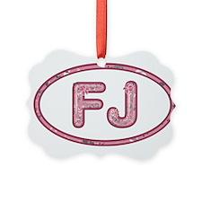 FJ Pink Ornament
