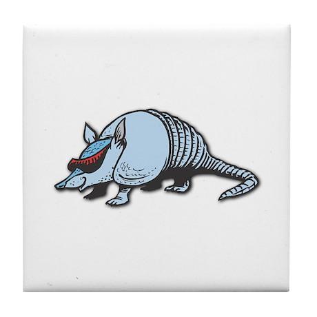 Cool Armadillo Tile Coaster