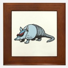 Cool Armadillo Framed Tile