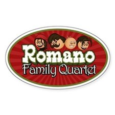 Romano Family Quartet Decal