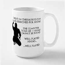 Thesaurus Ninja Funny T-Shirt Mug